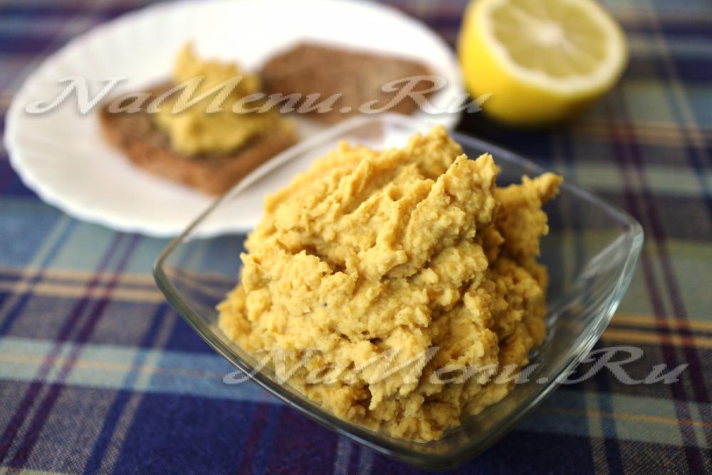 Хумус рецепт приготовления в домашних условиях пошагово