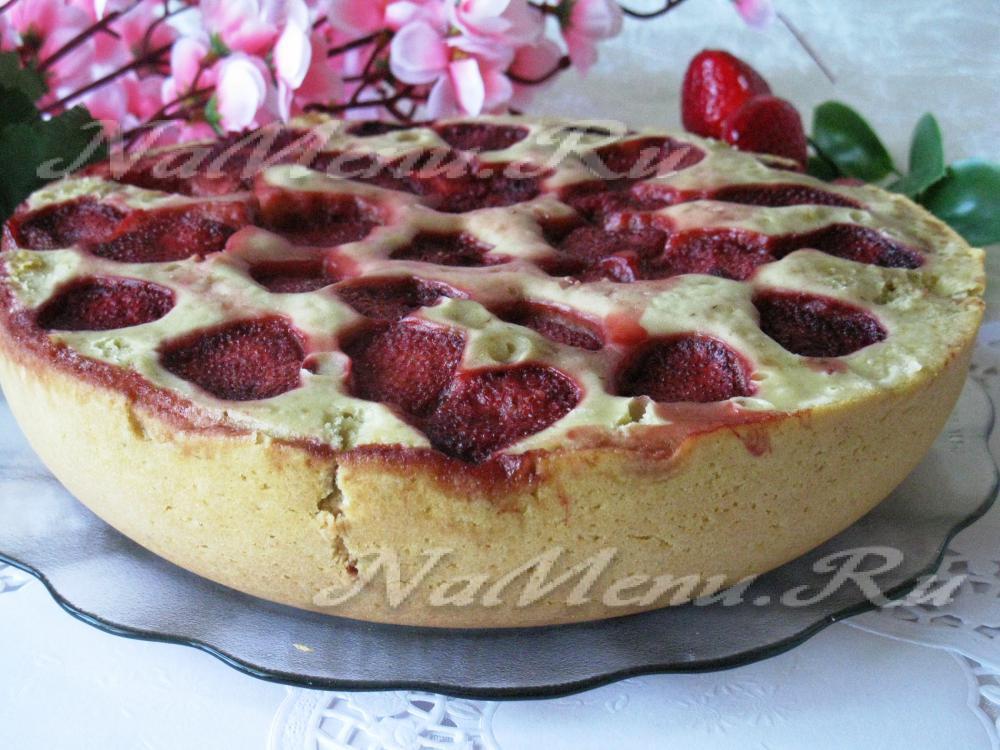 Рецепты пирогов с замороженной клубникой