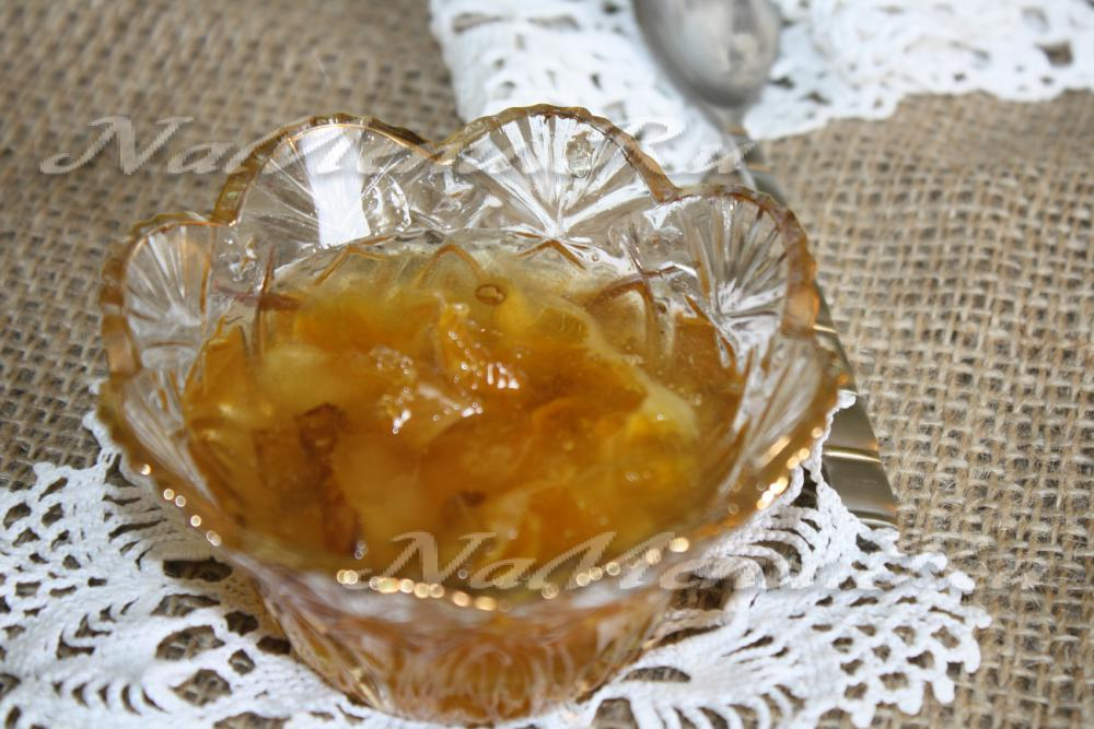 Апельсиновое варенье с корицей рецепт