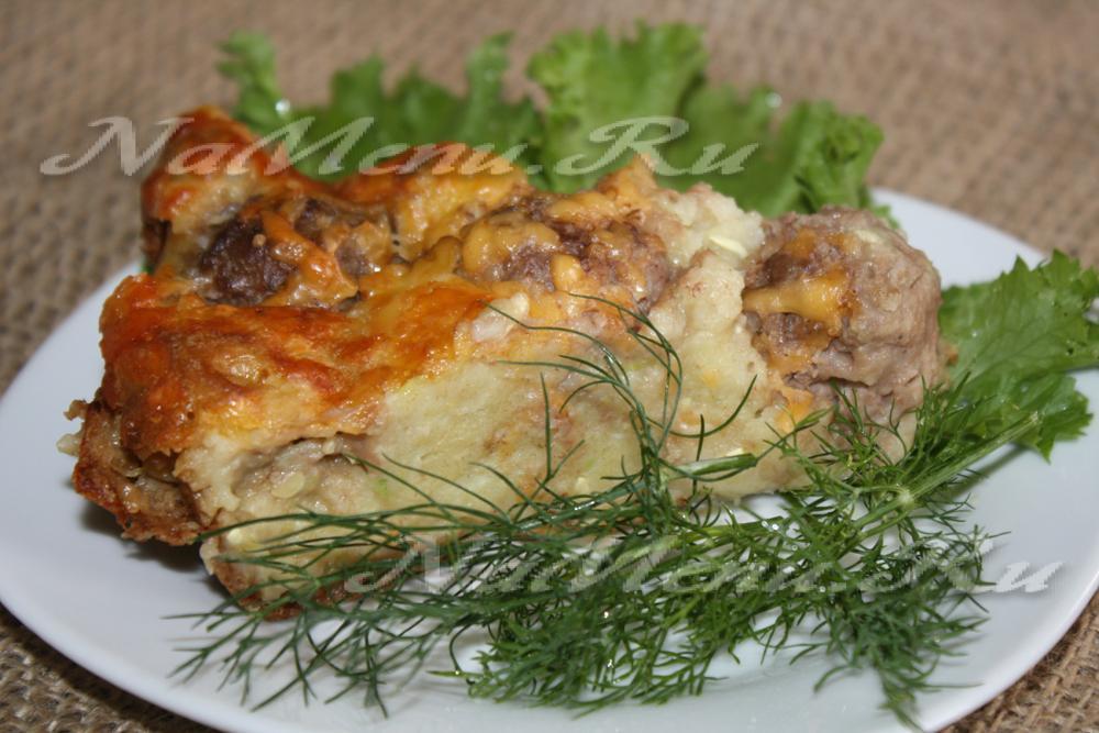 рецепт приготовления кабачков с фаршем в духовке с фото
