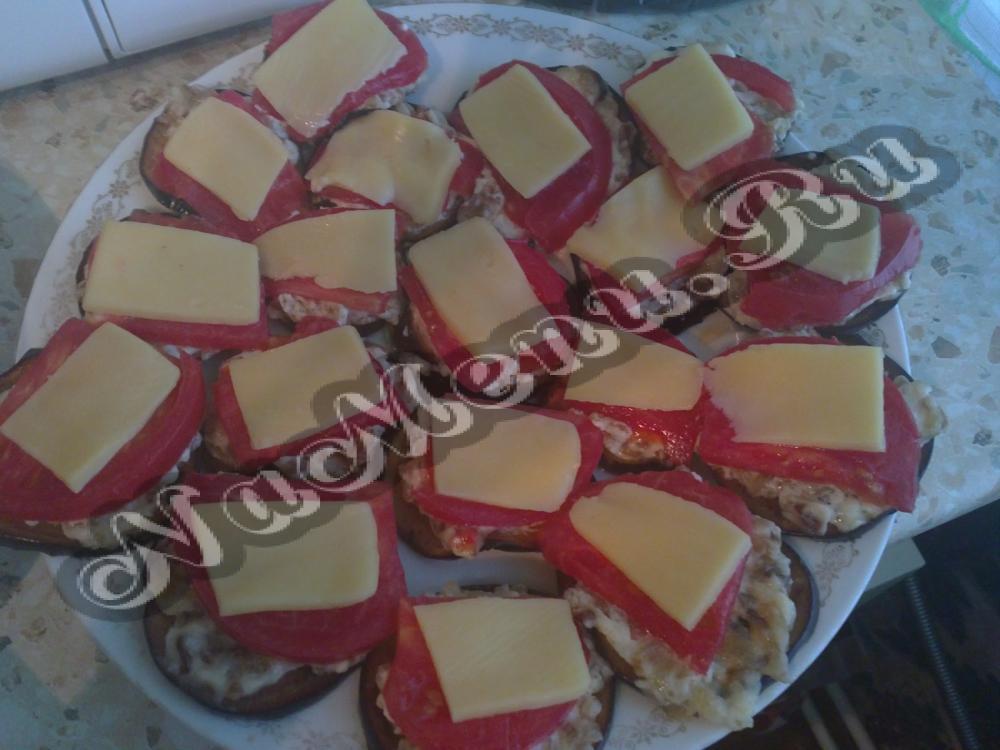 Калорийность баклажанов с помидором и сыром в духовке