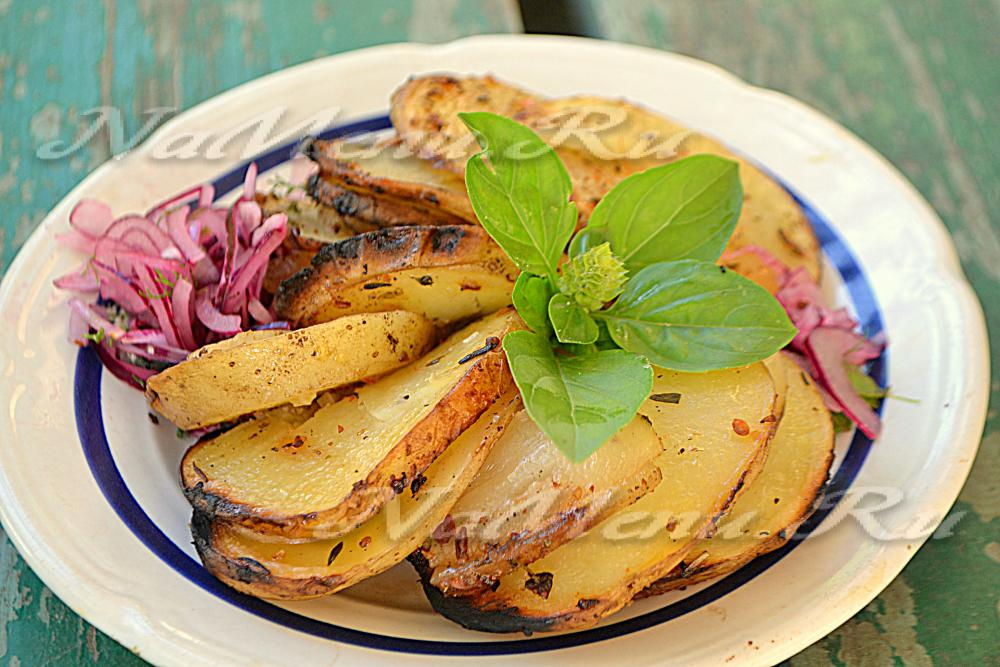 рецепты картошки в духовке с помидорами и сыром