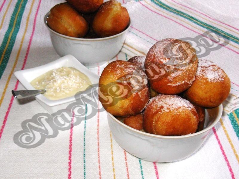 заварные пончики в духовке рецепт с фото