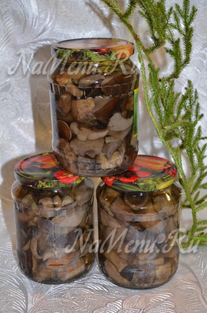 грибы подосиновики в духовке рецепты