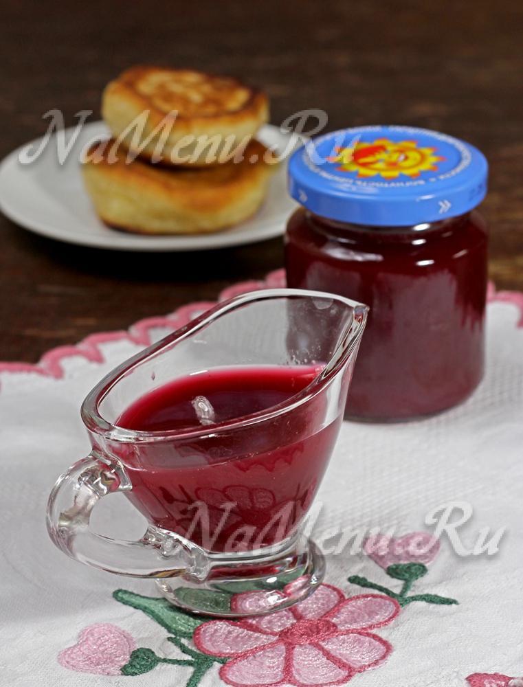 Что приготовить из сиропа красной смородины