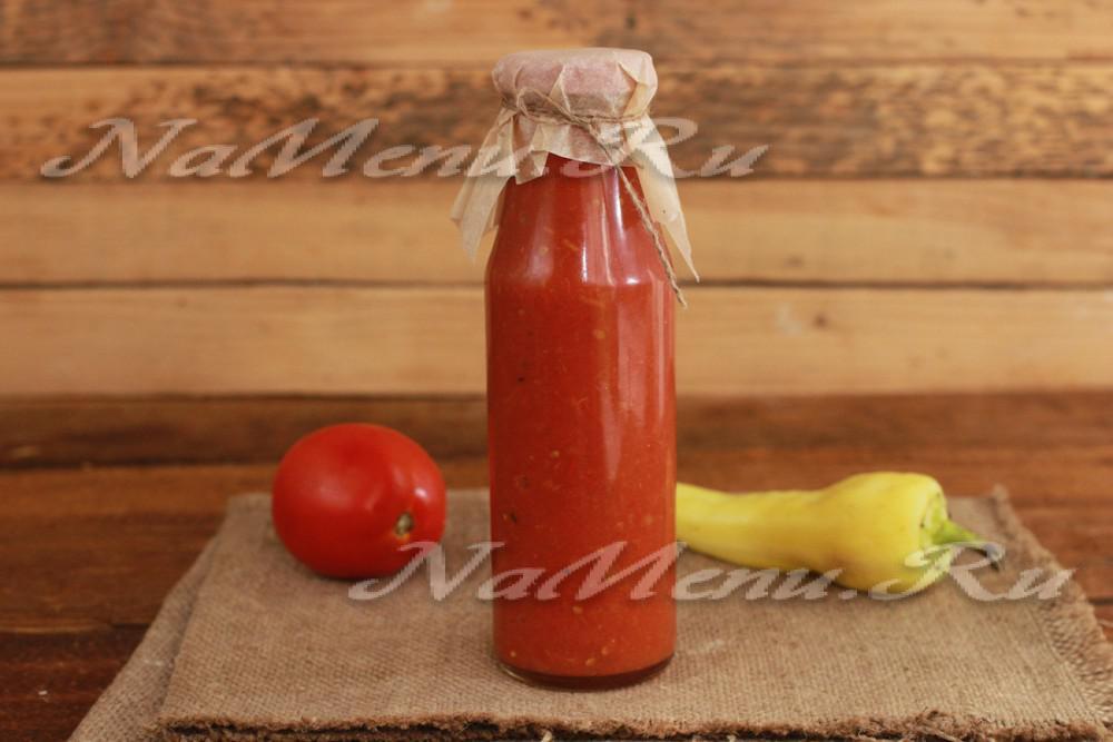 Кетчуп из помидоров на зиму пальчики оближешь в мультиварке