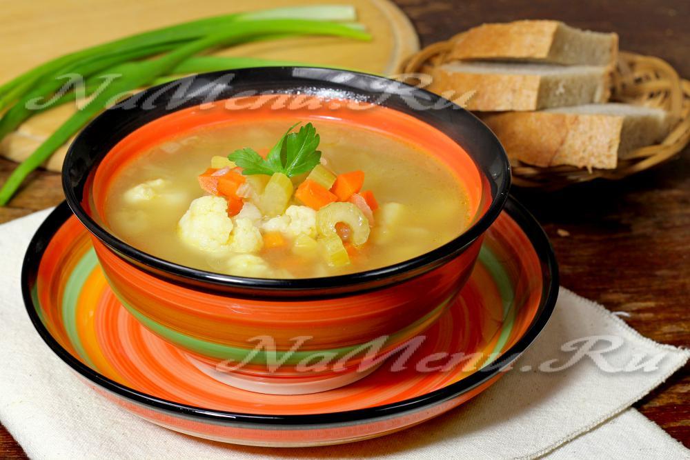 рецепт простого легкого овощного супа