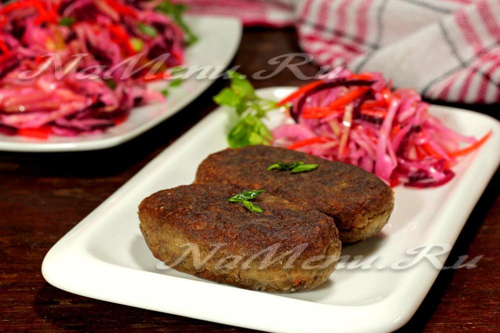 гречневые котлеты с грибами в духовке рецепт