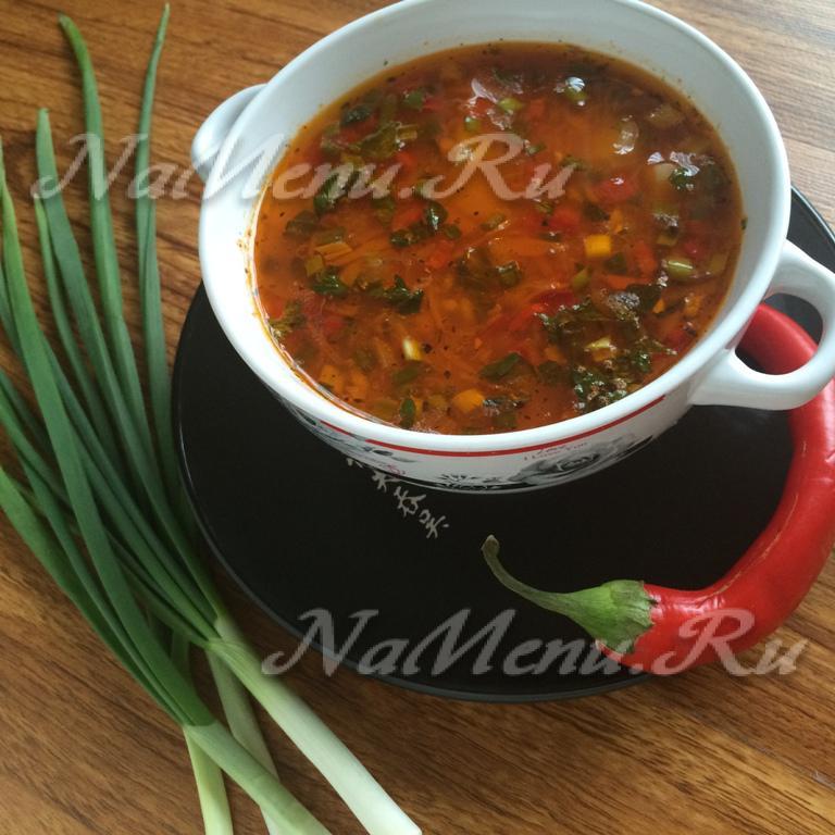 Суп харчо без лука рецепт