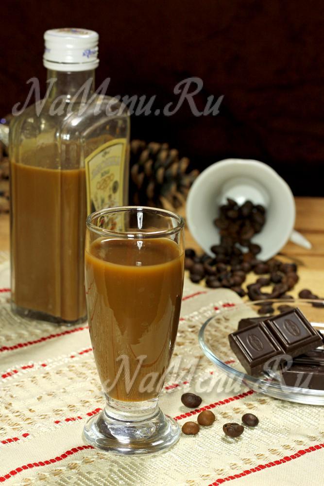 Как приготовить кофейный ликер