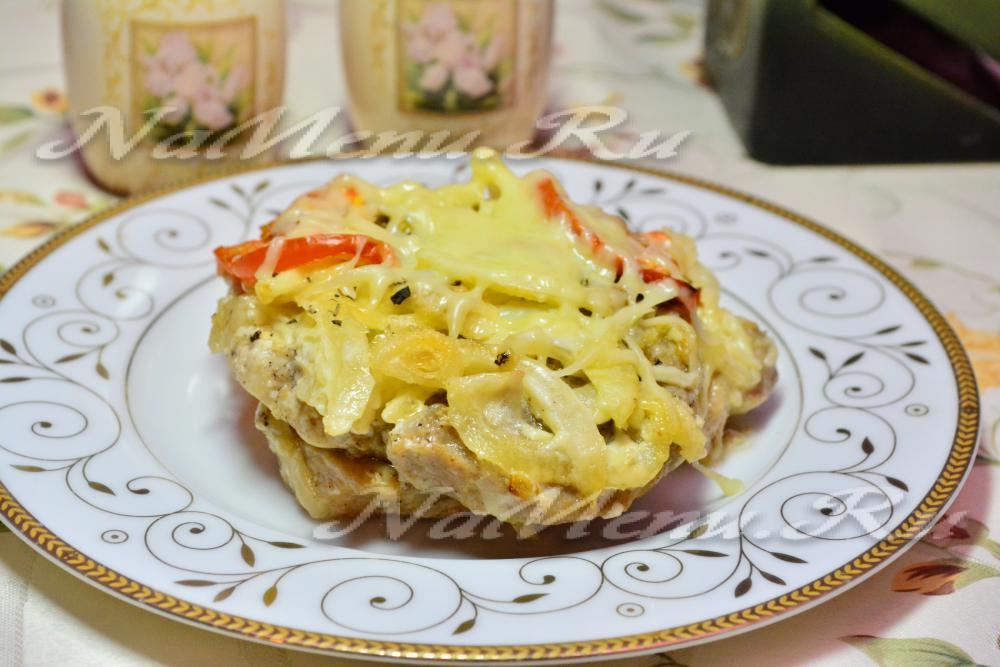 рецепт кабачки с помидорами с сыром в мультиварке