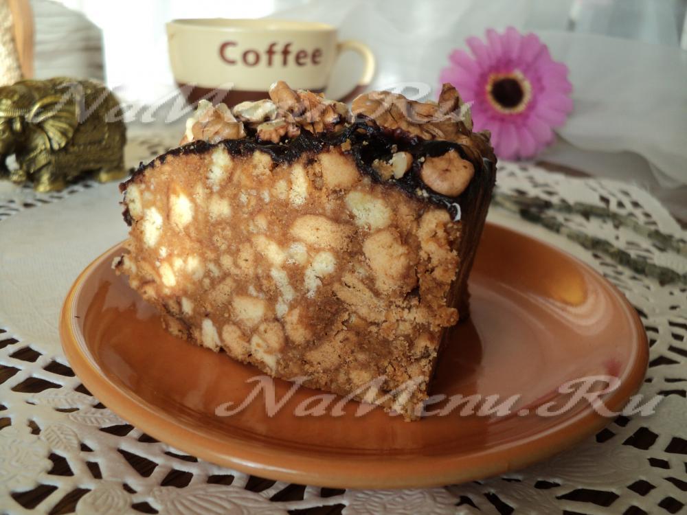 Торт муравейник классический пошаговый