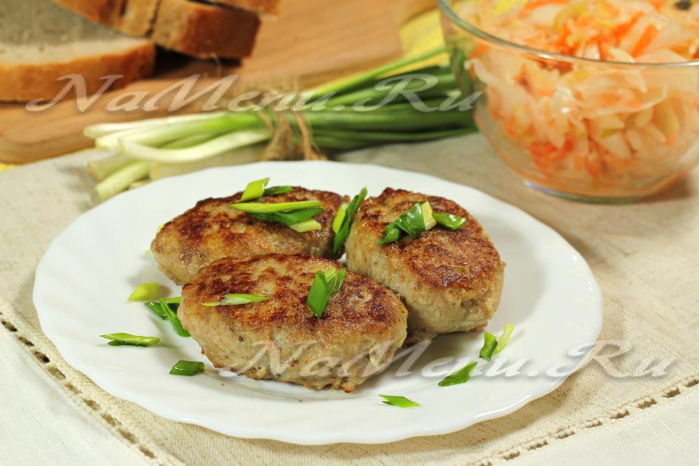 вкусные сочные мясные котлеты рецепты