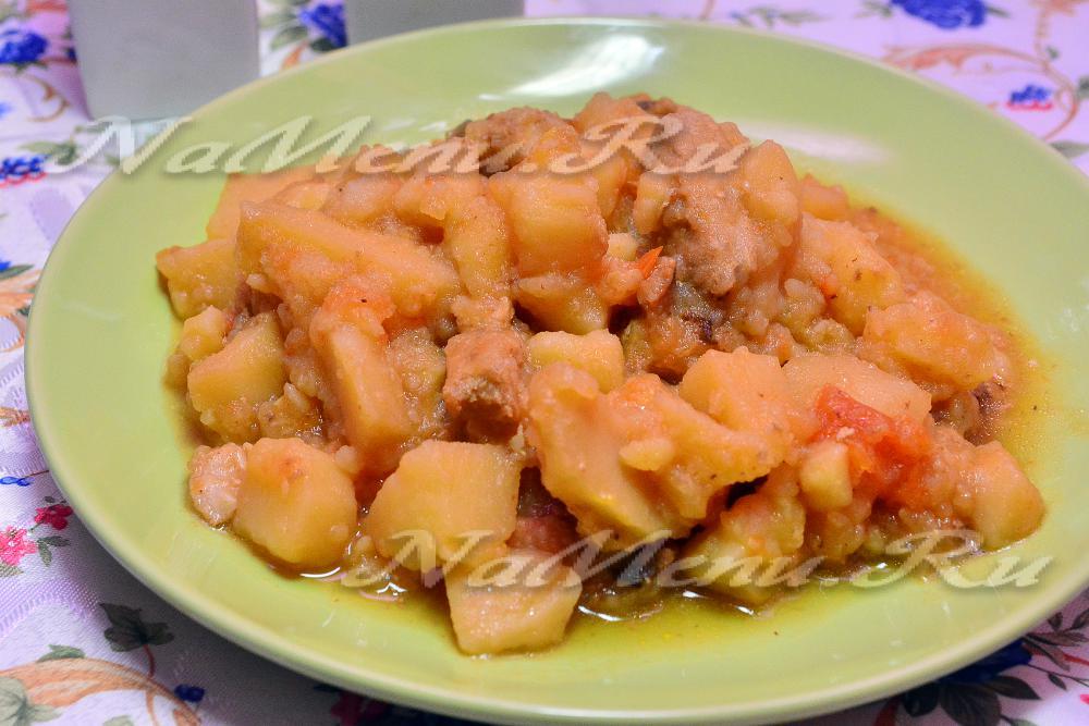 пирог с капустой и мясом рецепт и фото