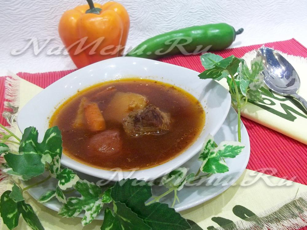 суп по деревенски