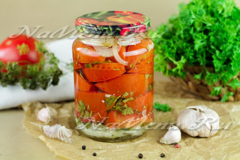 Салат на зиму с капустой и помидорами рецепты с фото