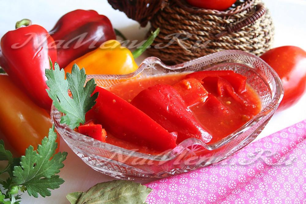 Калорийность лечо домашнего из перца