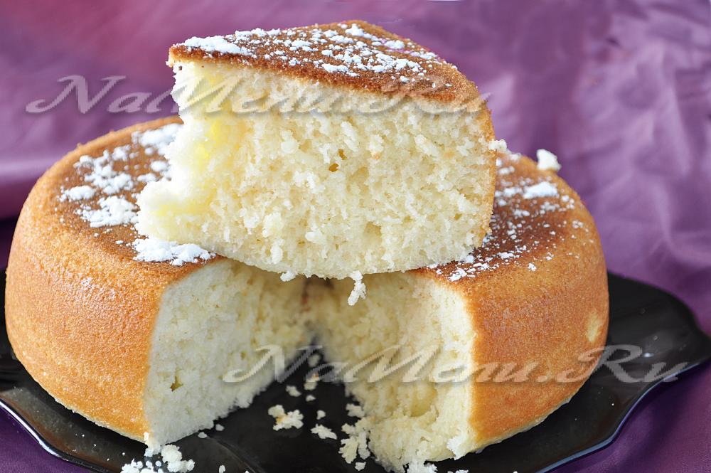 Кекс на молоке рецепт с фото пошаговый