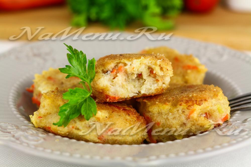 вкусные рыбные котлеты из трески в духовке рецепты