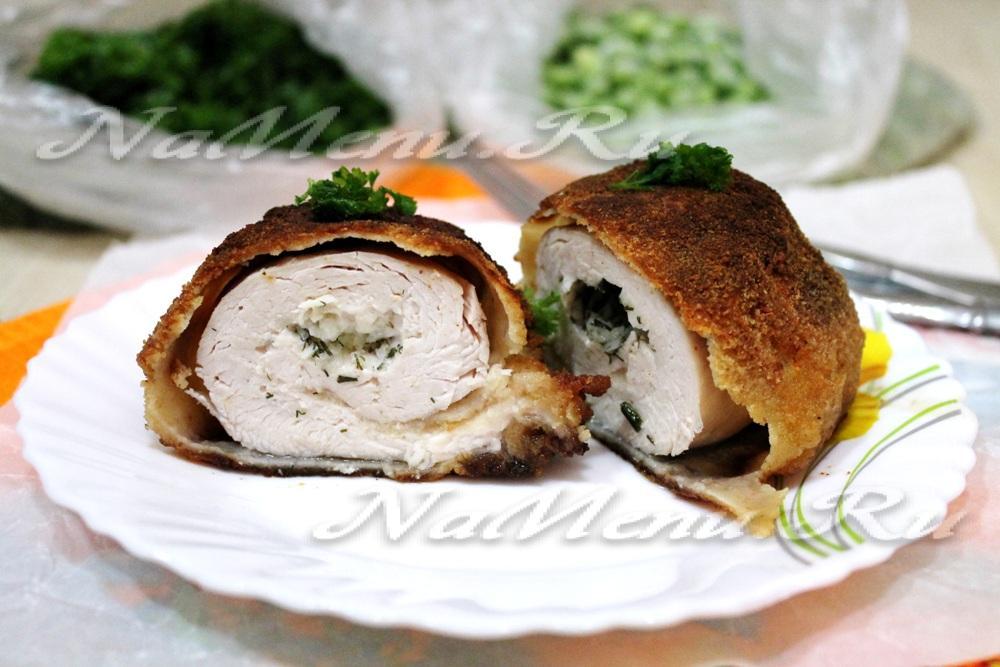 Котлеты по-киевски из куриного филе рецепт с пошаговым фото