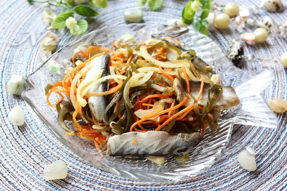 Салат с морской капустой вкусный рецепт