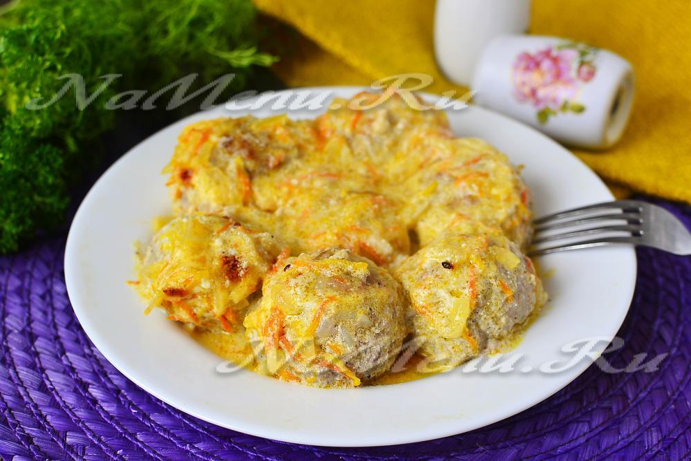 Тефтели в сметанном соусе рецепт с фото пошагово