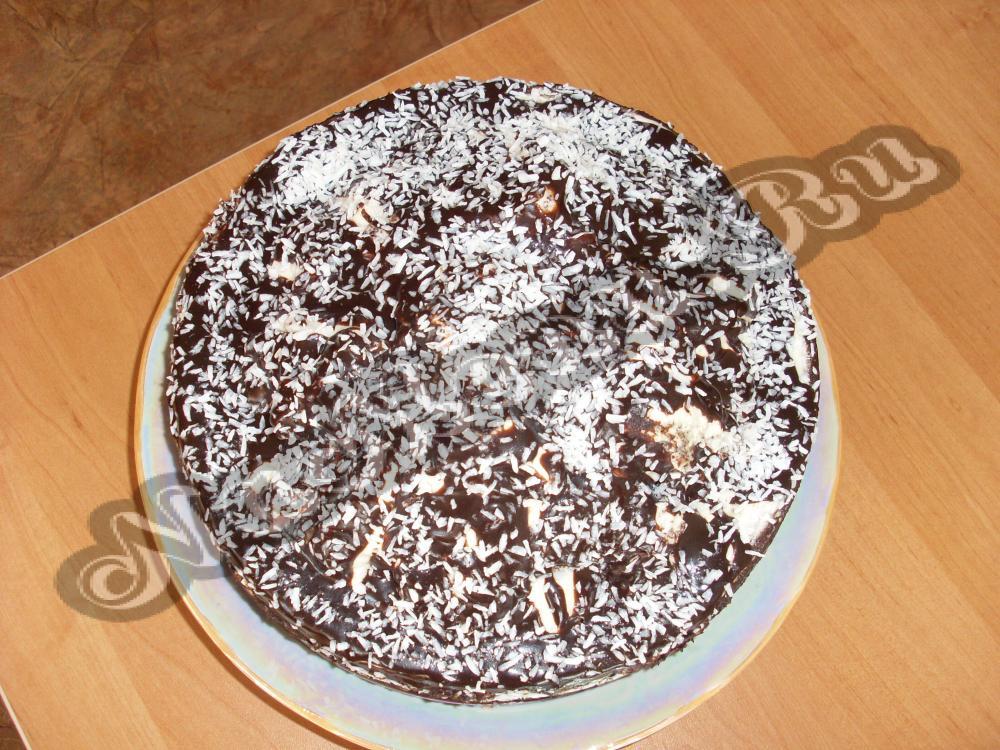 Торт графские развалины рецепт с пошагово