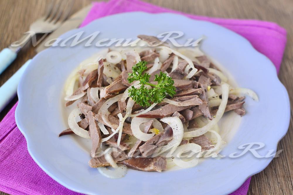 Салат картошка с мясом рецепт с фото