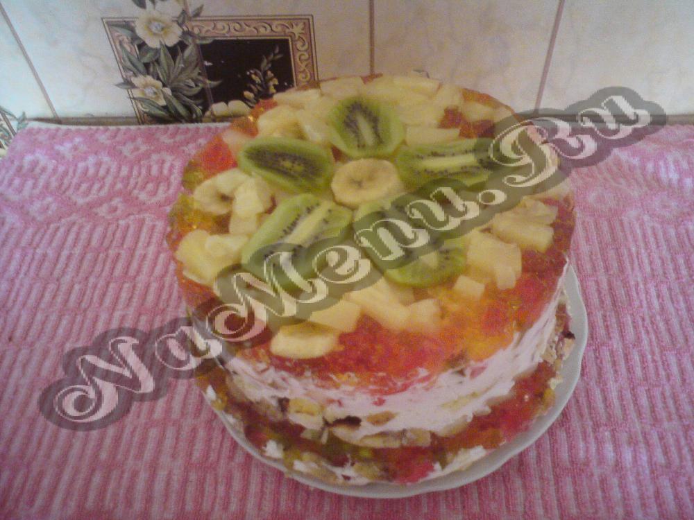 Рецепт с фото на торт быстрого