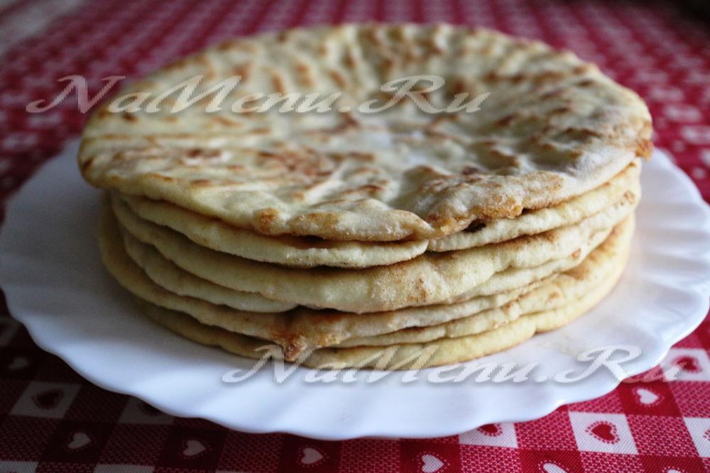 Лобиани с фасолью по грузински