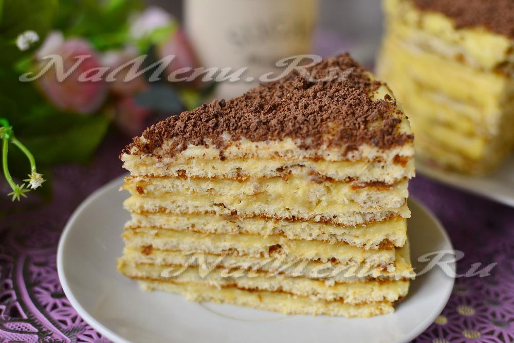 вкусный торт на сковороде рецепт с фото