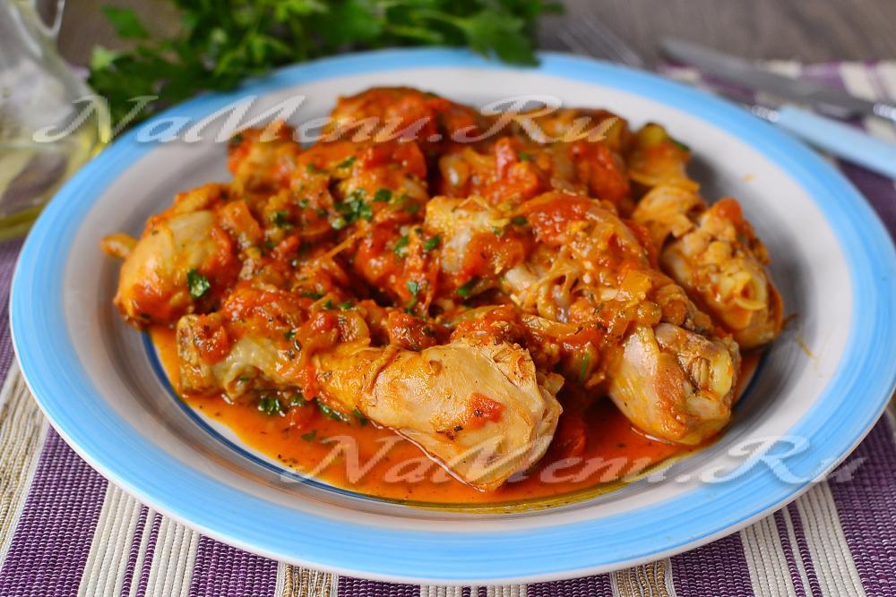 Чахохбили из курицы по-грузински пошаговый рецепт с фото с вином