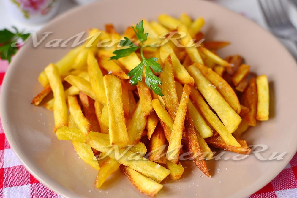 как пожарить картошку с хрустящей корочкой на сковороде