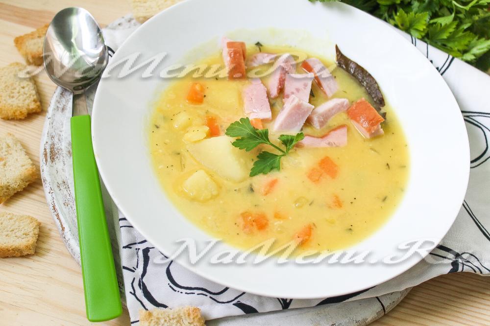 Гороховый суп рецепт классический с говядиной пошаговый рецепт