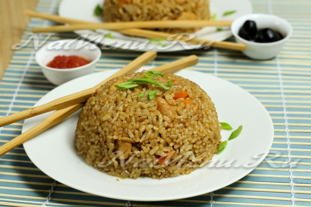 Рис с соевым соусом рецепт с фото в мультиварке