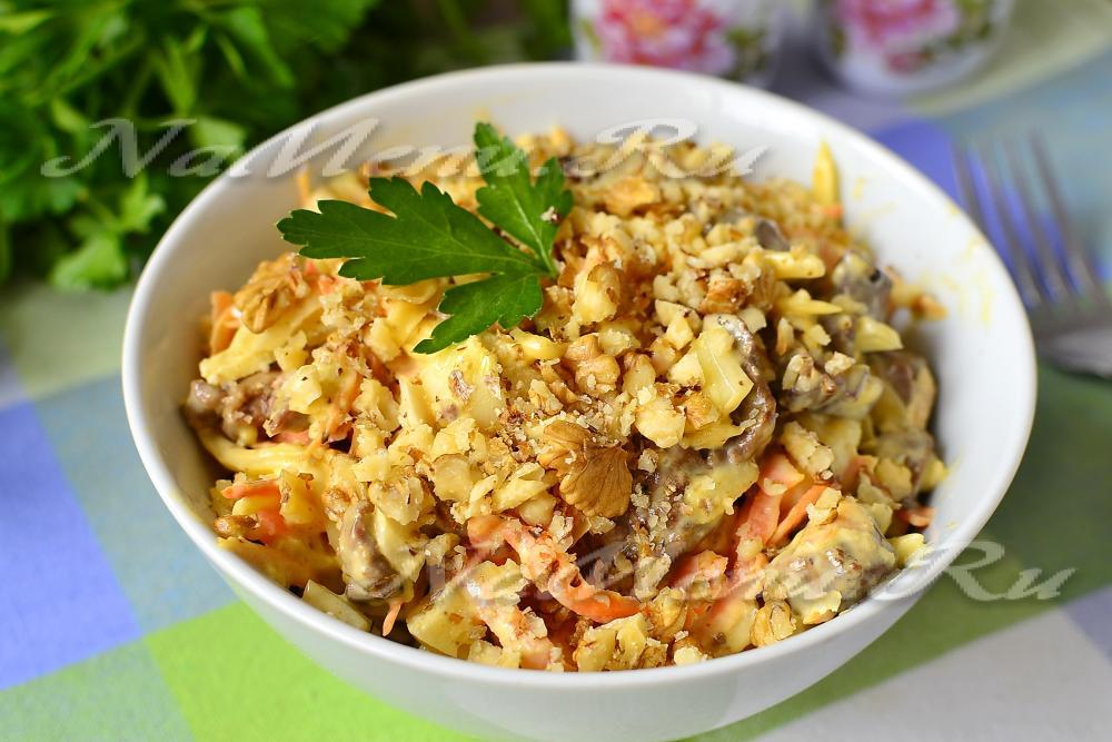 13 вкуснейших салатов с говядиной. 20 рецептов с фото ...