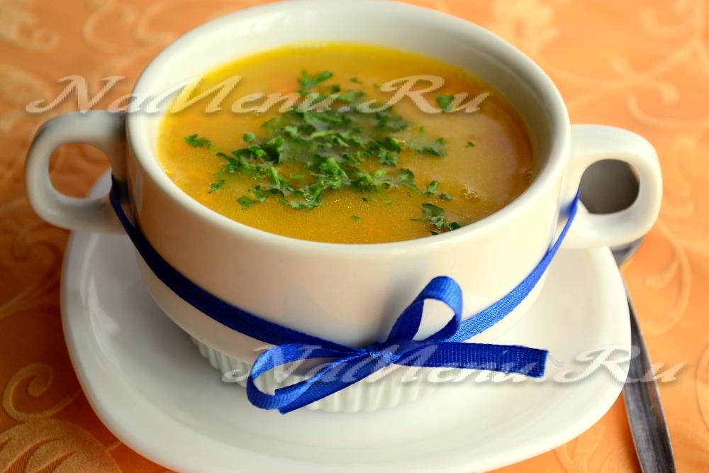 простой суп с фасолью рецепт с фото