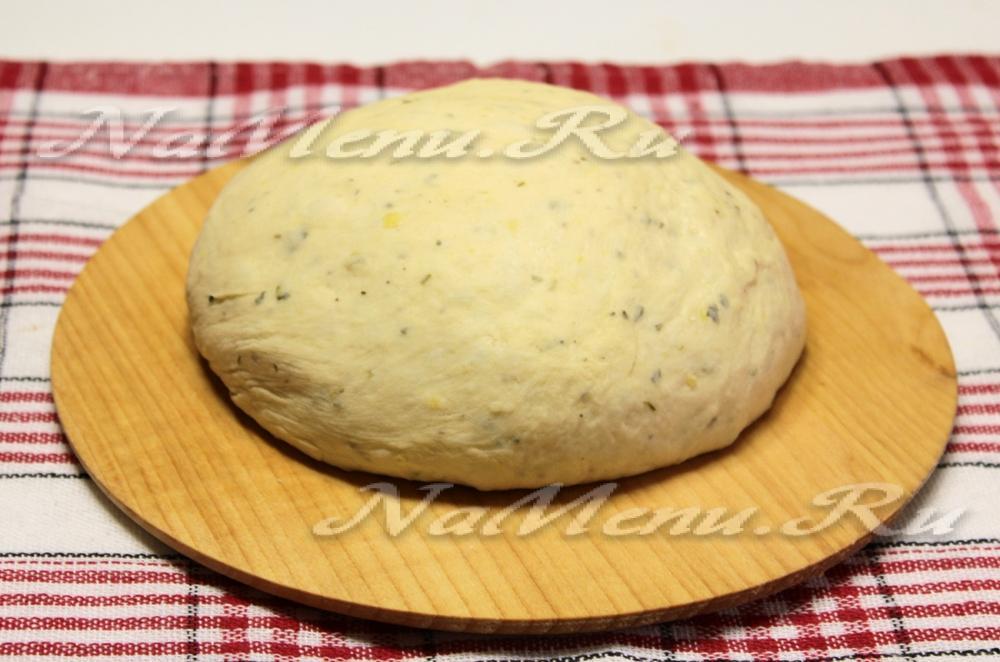 Картофельное тесто для пирога с