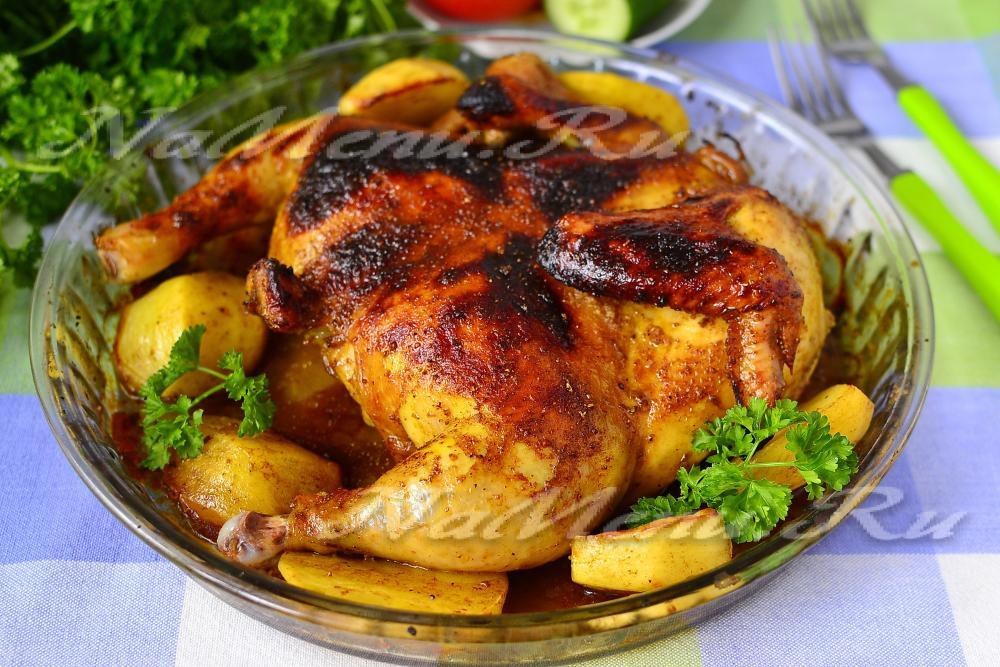 Как сделать хрустящую курицу в мультиварке