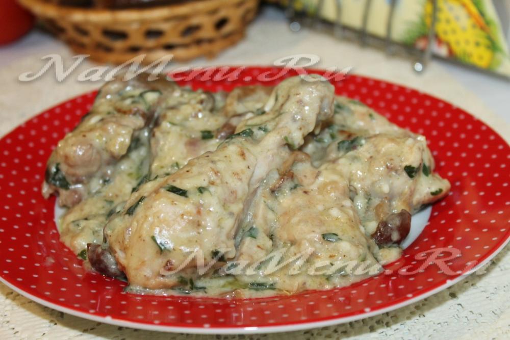 картофель с грибами и курицей в мультиварке рецепт с фото