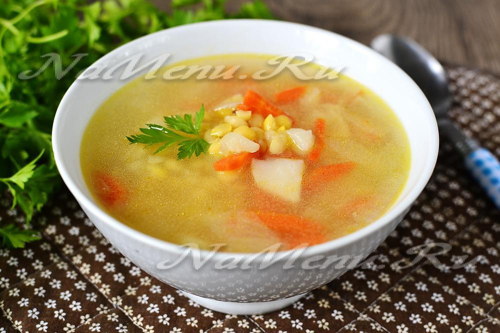 Как приготовить суп гороховый в мультиварке