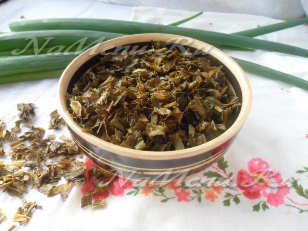 как сделать дома сушеный лук