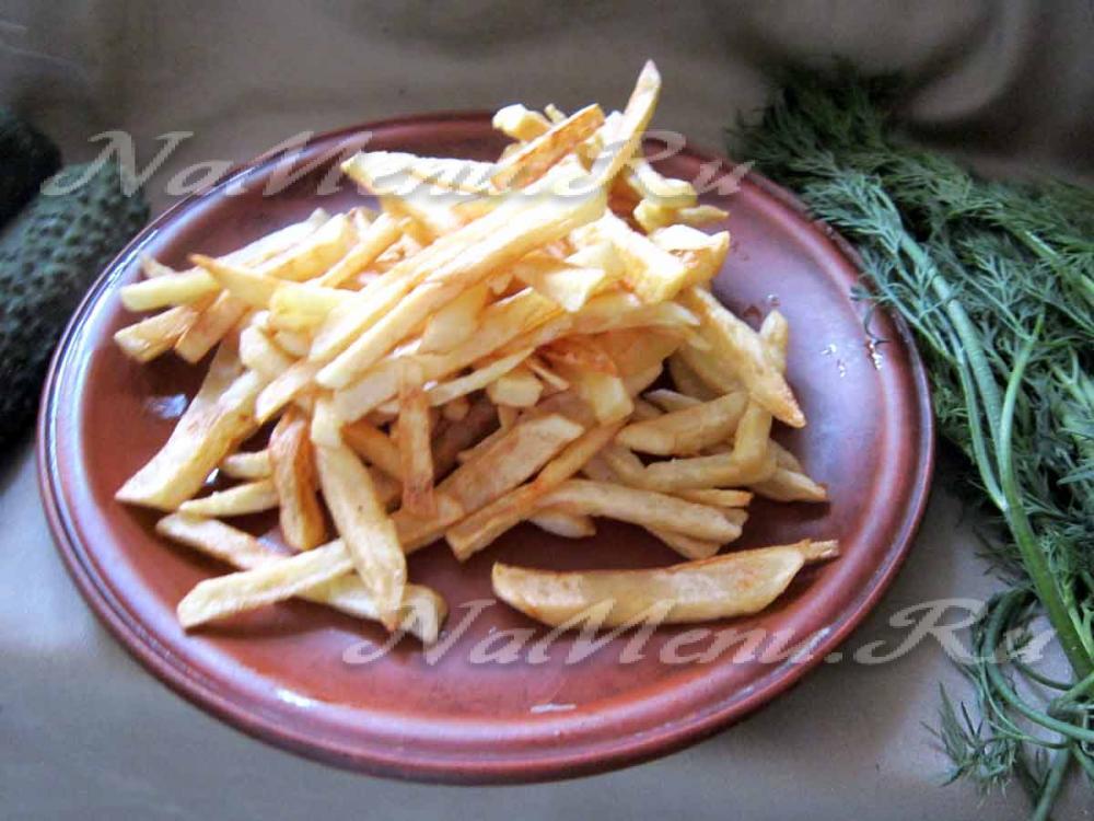 Картофель фри в домашних условиях без фритюра и фритюрницы 22