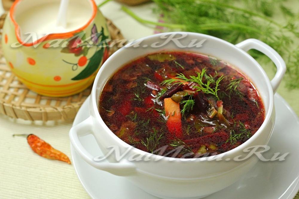 Рецепты супов ботвинник