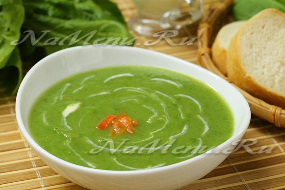 Суп со шпинатом и яйцом рецепт с пошагово 18