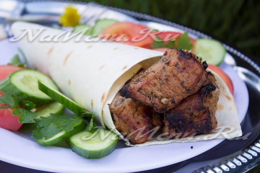 Шашлык свинины пошаговый рецепт с фото