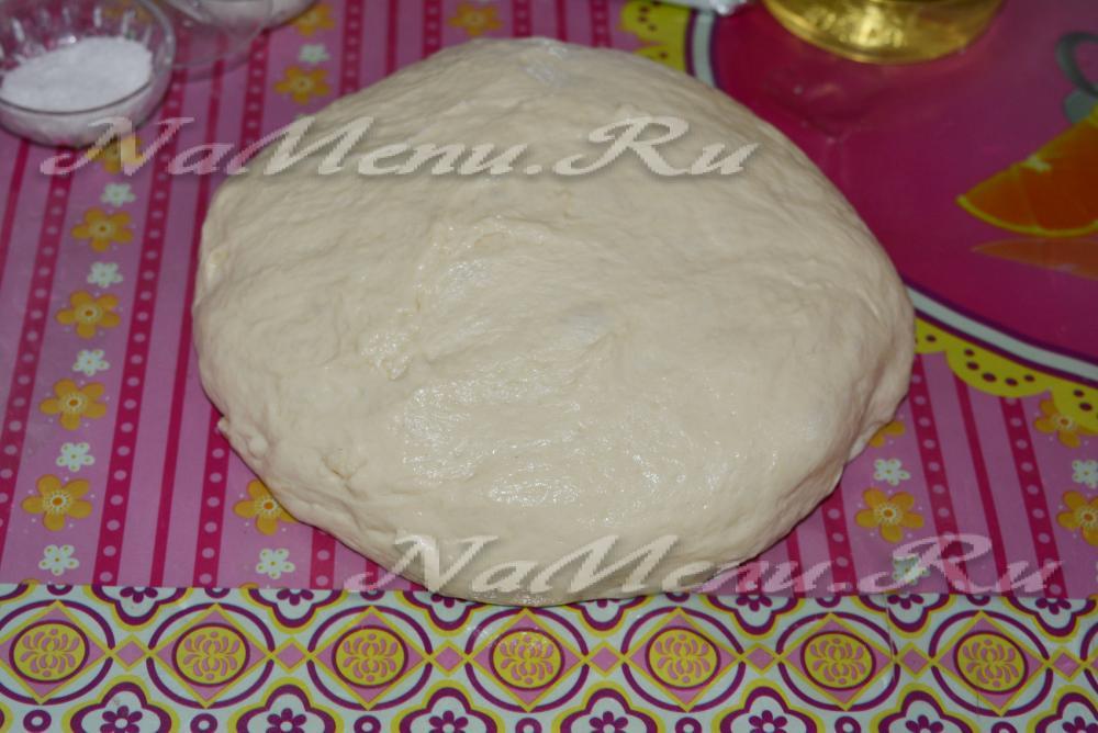 Приготовление теста для пиццы в хлебопечке