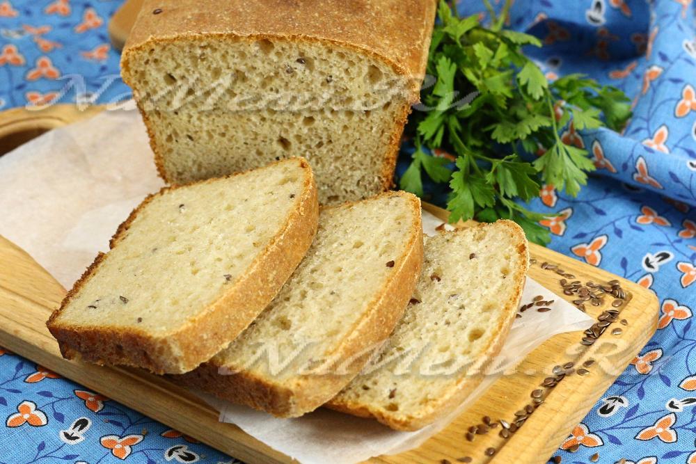 Простейший рецепт хлеба в духовке