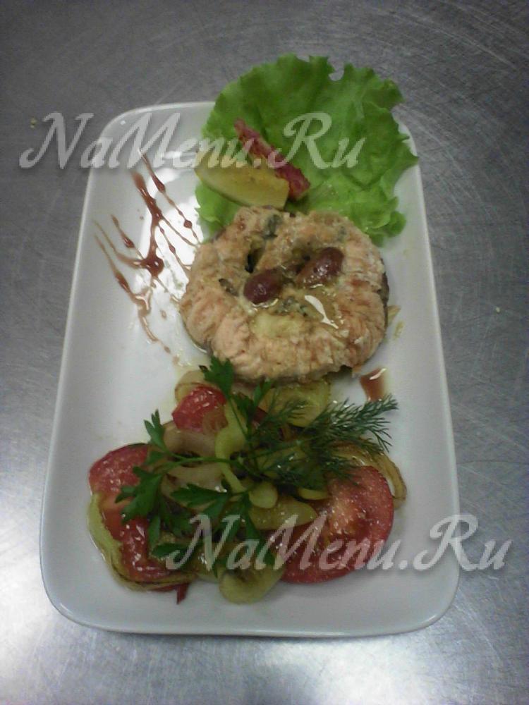 семга запеченная в духовке фото рецепты с фото