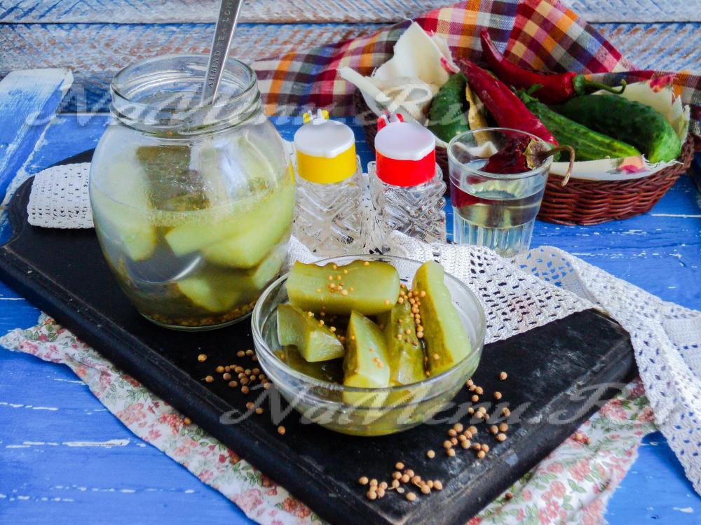 Огурцы в собственном соку рецепты приготовления